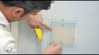 How 2-For U: Drywall Repair Patching A Large Hole In