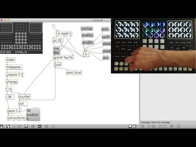Max And CNTRLR: making MIDI easy