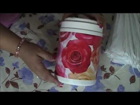 Recycle used plastic bags youtube for Plastic project ideas