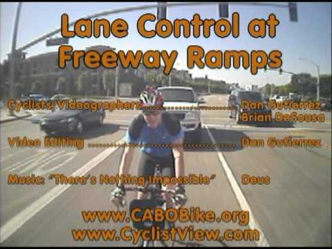 Lane Control at Freeway Ramps in Irvine California