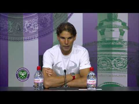 Rafa Nadal press conference (1R) - Wimbledon 2014
