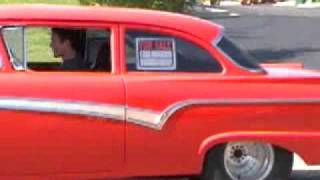 57 Ford 14:1 Roller FE 390 Burnout!