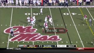 11/24/2012 Miss State vs Ole Miss Football Highlights