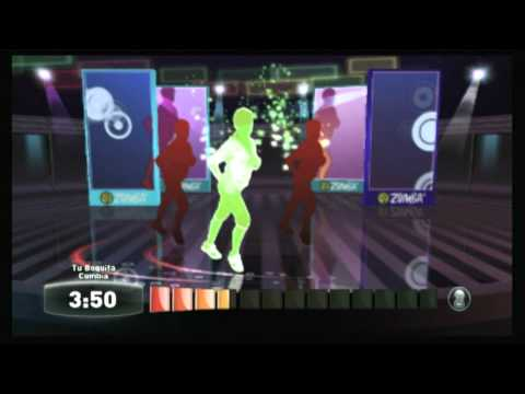 CGR Undertow - ZUMBA FITNESS for Nintendo Wii Video Game Review