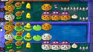 Let's Play Plants Vs Zombies 65: Supervivencia Dificil