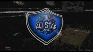 NBA 2K14 - All Star Weekend, 3 Point Contest & Dunk Contest Feat Steph Curry, Blake Griffin & More