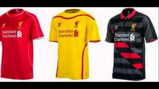 Camiseta Liverpool 2014 2015
