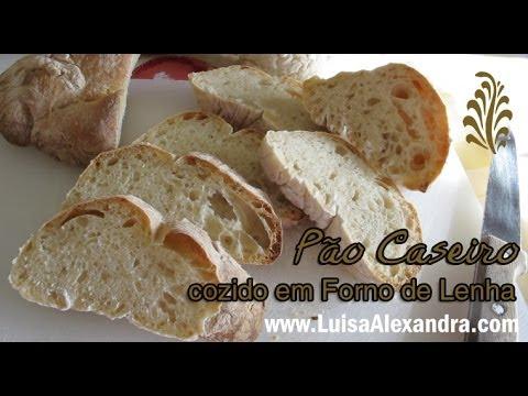 Pão Caseiro cozido em Forno de Lenha • www.luisaalexandra.com