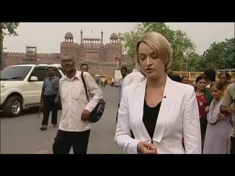BBC One News at Six and Ten: David Cameron's India Trip (July 2010)