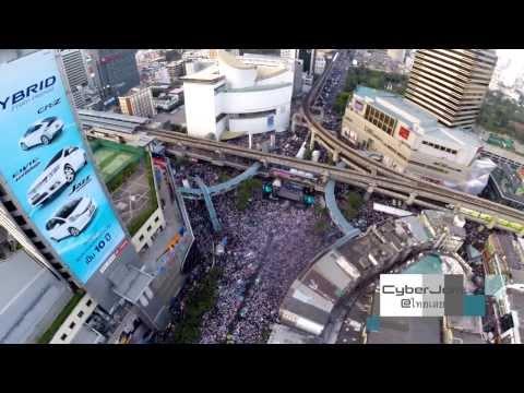Bangkok 'shutdown' 13 Jan 14 Pathumwan