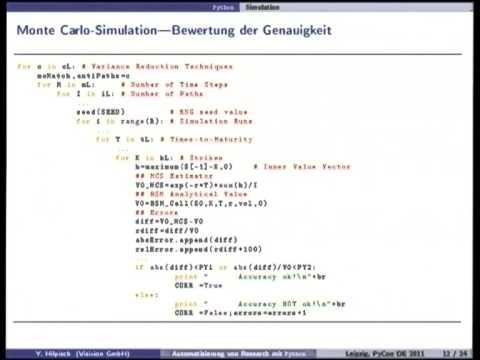 Image from Automatisierung von numerischer Forschung mit Python