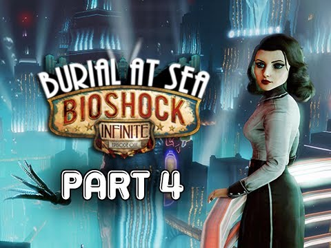 Bioshock Infinite: Burial at Sea Episode 2 Walkthrough Part 4 - Silver Fin Restaurant (PC 1080p)
