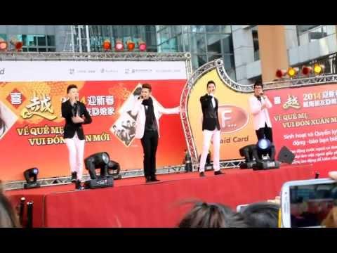 Chúc mừng năm mới-nhóm Vmusic tại taiwan 5/1/2014