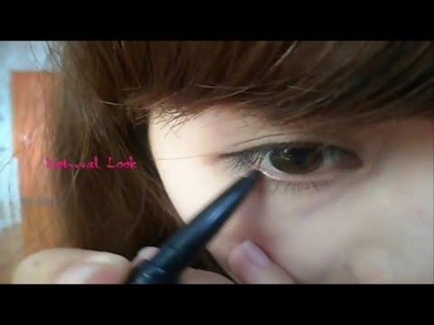 Hướng dẫn những cách kẻ mắt nước - chì - bút lông - gel -  Eyeliner