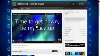 How To Make A Professional Looking Lyrics Video Part I