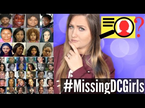 14 BLACK GIRLS GO MISSING IN 24 HOURS? #MissingDCGirls