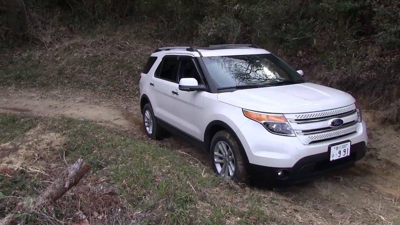 Ford Explorer And Mitsubishi Delica Off Road Walk Youtube