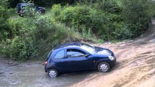 FORD KA , off road  wroclaw :)