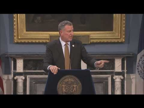 Mayor Bill de Blasio Releases Implementation Plan for Dramatic Expansion of After-School Programs
