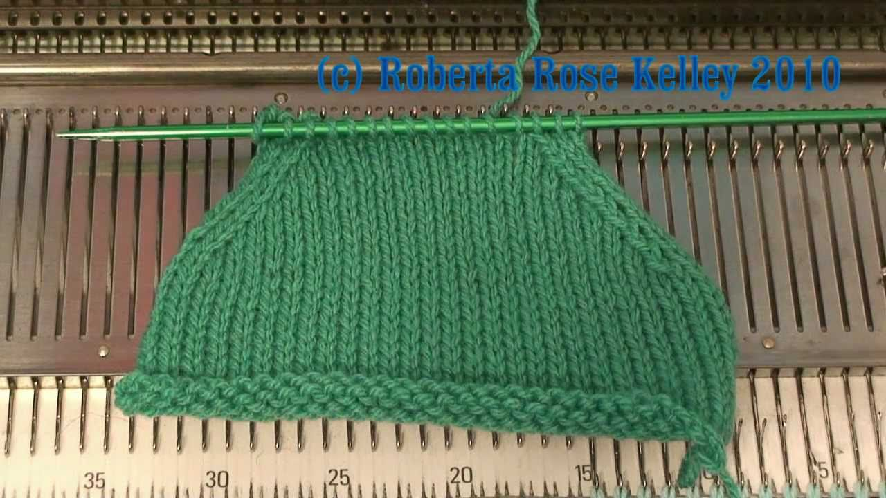 Knitting Yfwd Psso : Ssk or s k psso decrease on the knitting machine youtube