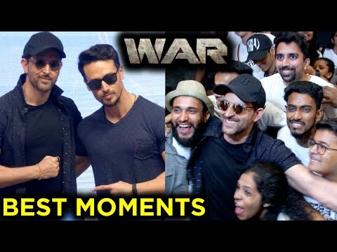 Hrithik Roshan, Tiger Shroff, Vaani Kapoor BEST FUNNY Moments From WAR Movie Success Party