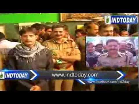 Police Commissioner Anurag Sharma visit Bibi Ka Alawa