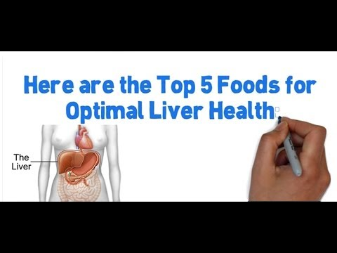Fatty Liver - Top 5 Foods To Help Your Fatty Liver Today!