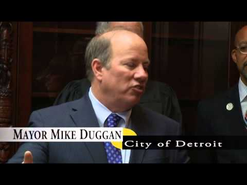 Mayor Duggan Oath of Office 2014