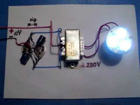 Power Inverter 12V 230V 120V, NEW circuit diagram, very easy, homemade