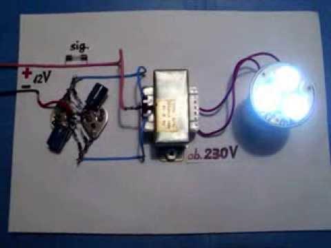 Power Inverter 12V 230V 120V, NEW circuit diagram, very easy, homemade