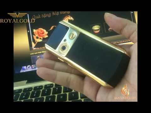 Samsung Ego mạ vàng 24K | Samsung Ego S9402 Gold plated