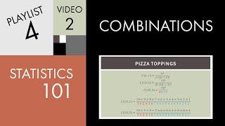 Statistics 101: Combinations