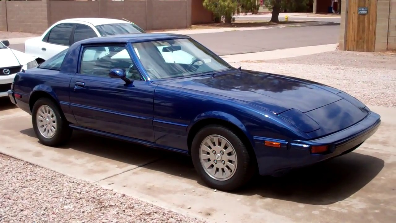 1985 Mazda Rx 7 For Sale Youtube