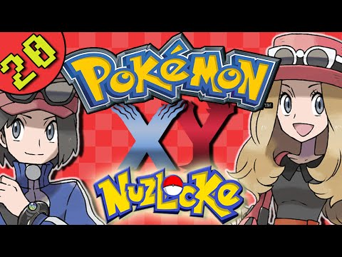 Let's Play Pokemon X and Y Nuzlocke Gameplay   Part 20 - Fairly Smeargle