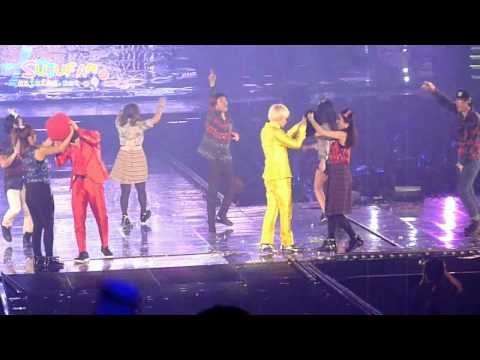 [FANCAM] 111120 SUPERJUNIOR SS4 in Seoul - OPPA OPPA | EunHae [Vietsub]