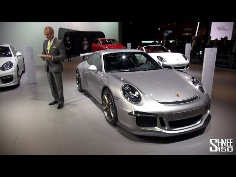 Porsche 991 Turbo and GT3 - Press Launch at Dubai Motorshow 2013