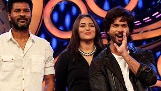 "Shahid Kapoor, Prabhu Dheva & Sonakshi Sinha launching ""Gandi Baat"" on Dance India Dance"