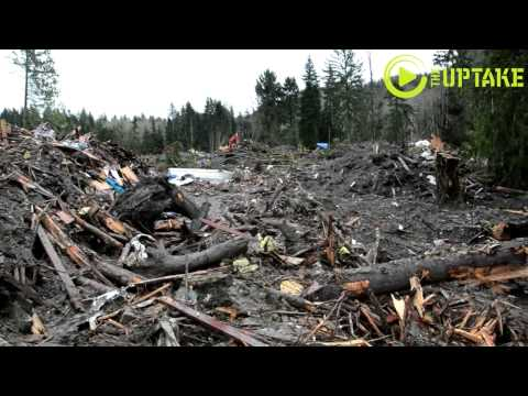 Oso, Washington Mudslide Devastation