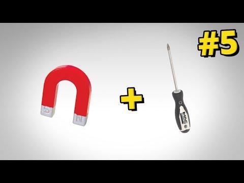 Jak namagnesować śrubokręt