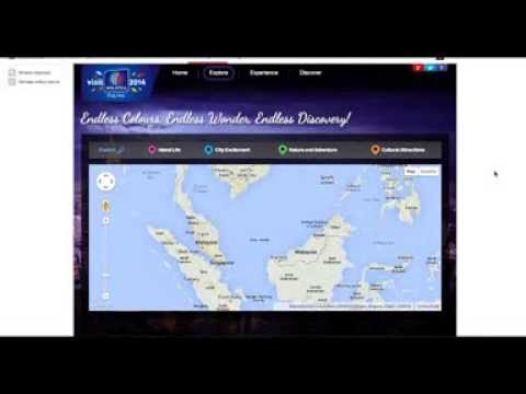 True Aisa - Malaysia Tourism - Map Integration - MY