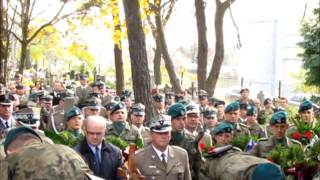 Toruń. Pogrzeb płk. Grzegorza Nicke