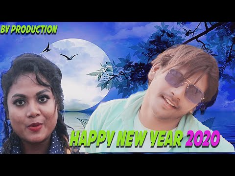 HAPPY NEW YEAR 2020//NEW SANTALI STAR WISHES  VIDEO//SHOOTING FUNNY MOVEMENT
