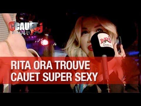 RITA ORA trouve que Cauet est super sexy !! - C'Cauet sur NRJ