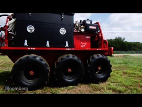 Robotic Fire Truck - The Fire OX