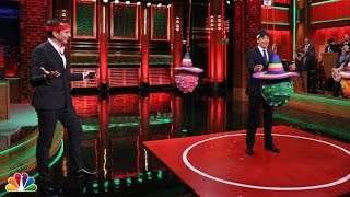 Karate Piñata with Will Arnett and Jimmy Fallon