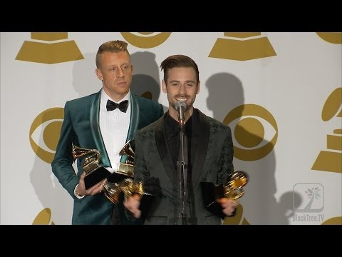 2014 GRAMMY Awards Macklemore and Ryan Lewis PRESS ROOm