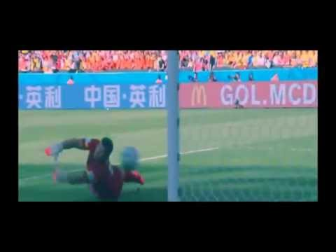 Australia vs Netherlands 2-3 All Goals & Higlights(Brazil 2014) 18 06 14 HD