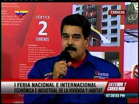 Nicolas Maduro sobre Chataing