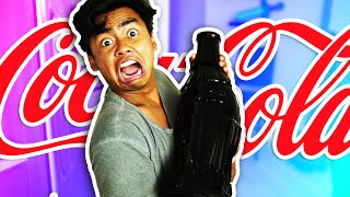 DIY How To Make GUMMY COKE BOTTLE!