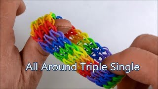 How To Make The All Around Triple Single Bracelet On The